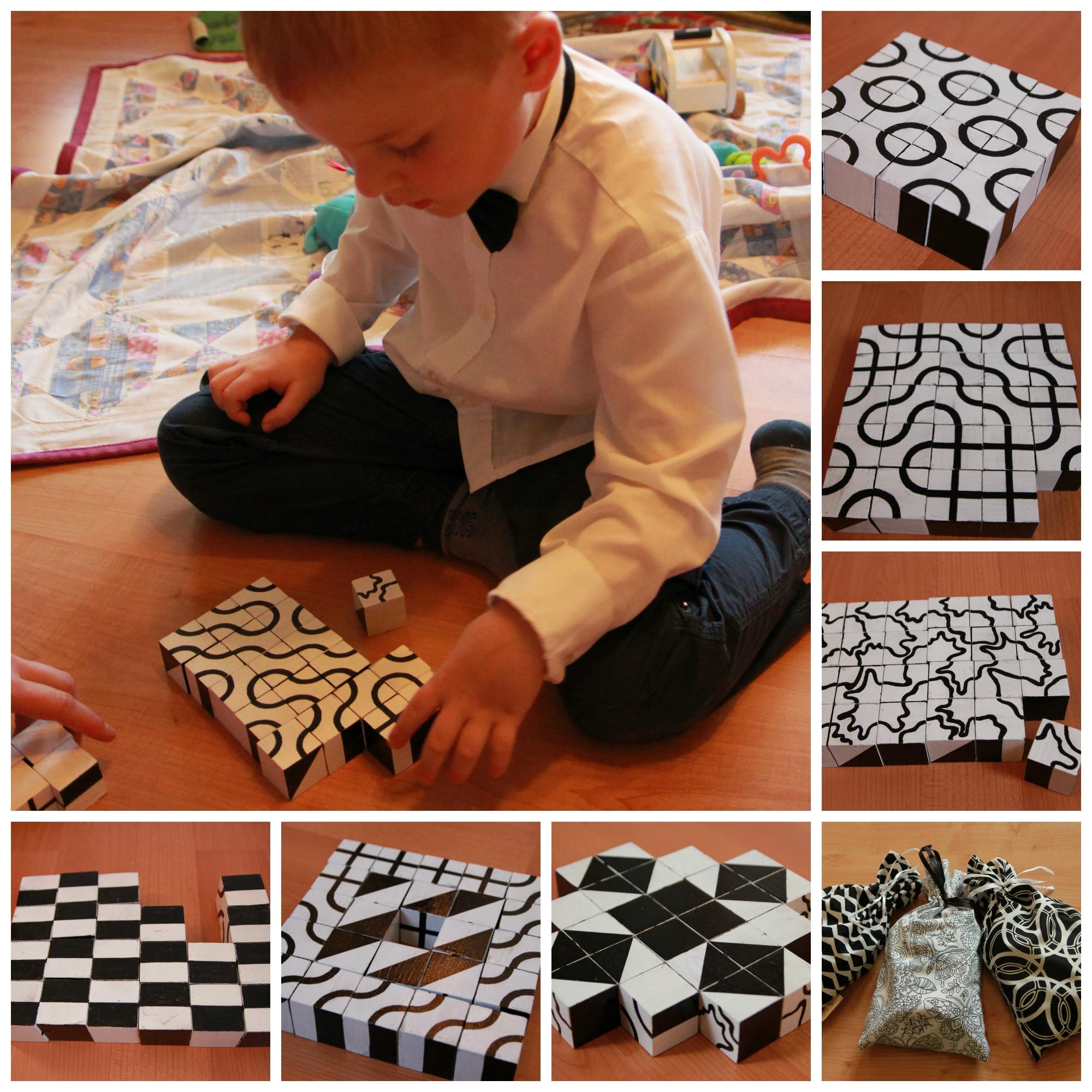 hravá geometrie v praxi! 24 kostek, ze kterých postavíte až 9 milionů kombinací.