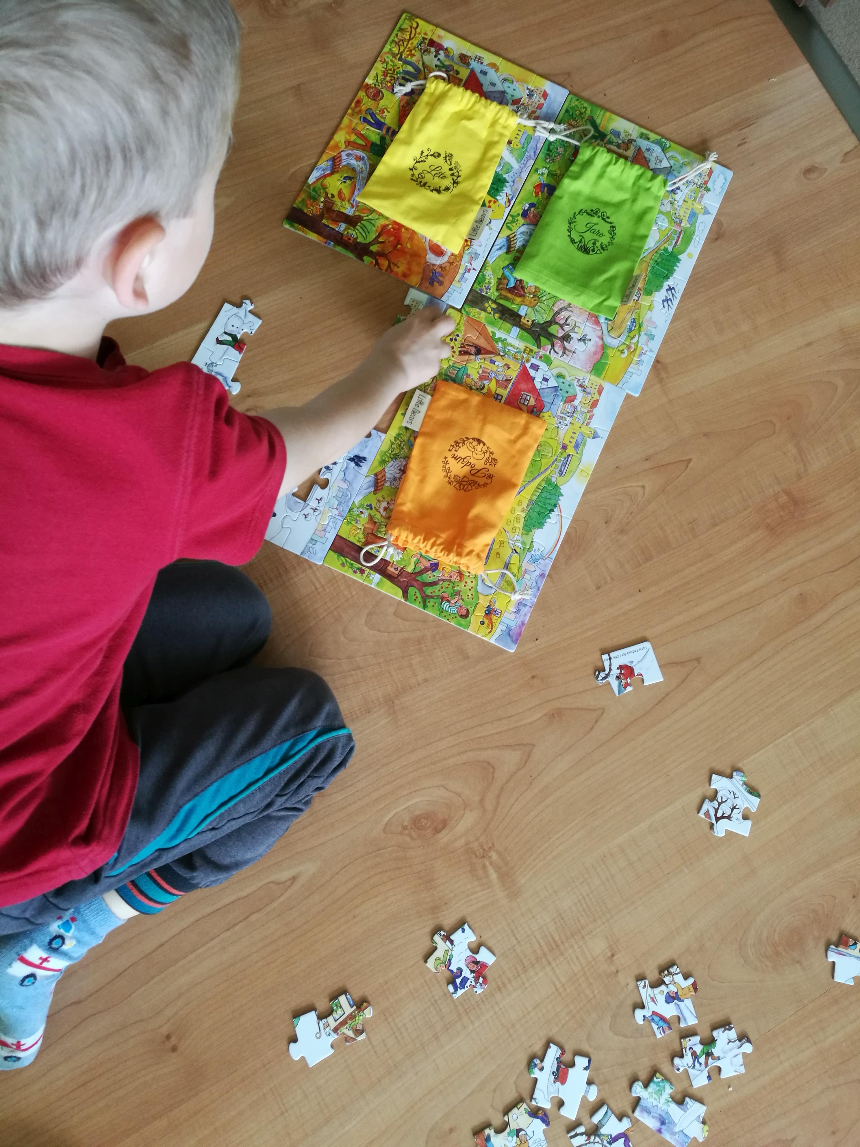 puzzle Čtyři roční období